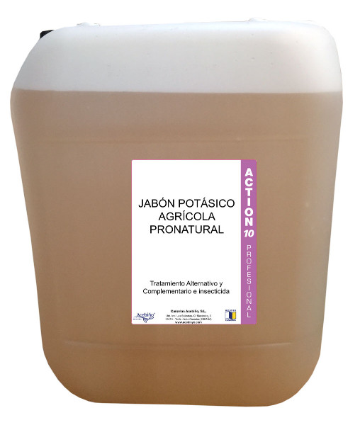 JABON POTASICO AGRICOLA PRONATURAL 25 L.
