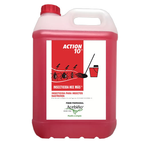 INSECTICIDA HCE MAS ACTION 10 5L.